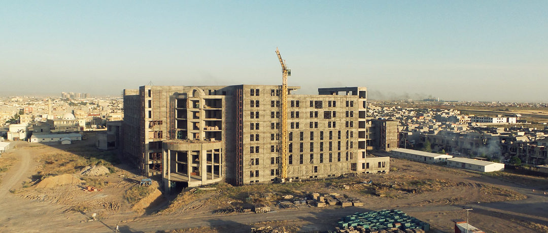 Construction of new General Hospital in Erbil